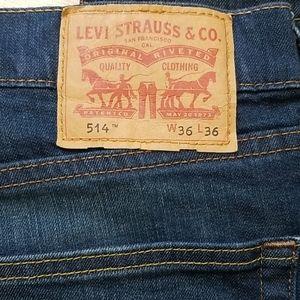 Levis 514 size 36 X 36